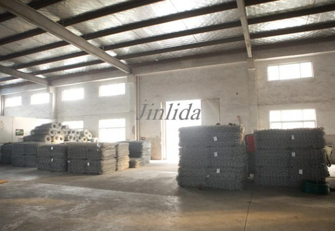High Efficiency Packing Press Gabion Mesh Machine / Gabion Box Machine 380V