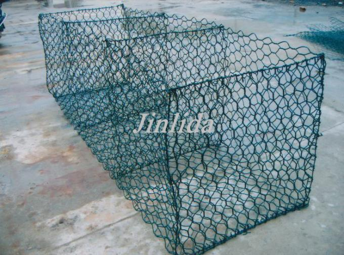 PLC Control Gabion Box Machine With Automatic Stop System / 2.5mm Wire Dia.