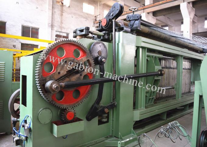 Spiral Coil Three Twist Gabion Wire Mesh Machine with Max Weaving Width 4300mm