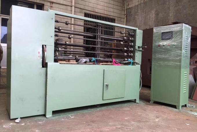 6 Bars Automatic Spring Coiling Machine 1.5kw PLC Control 4.0mm Wire