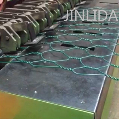 Hexagonal Wire Netting Edge Banding Machine 4.7kw Automatic PLC Control