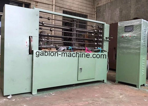 6 Bars Spiral Coiling Machine