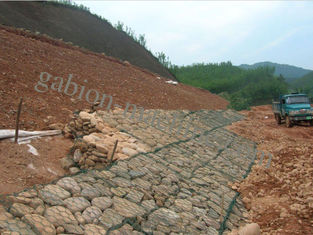 Galvanized Steel Wire Stone Gabion Boxes Galvanised Steel Mesh