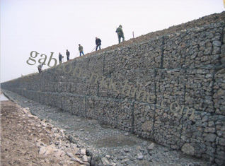 PVC Coated Hexagonal Gabion Wire Mesh With Corrosion Resistant