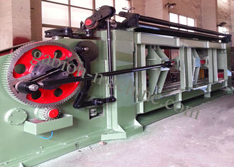 Automatic PLC Heavy Duty Wire Netting 22kw Gabion Mesh Making Machine 195m/h