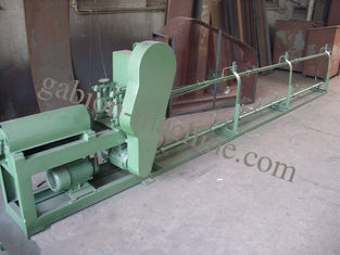 Galvanizing And Pvc Wire Straightening And Cutting Machine For 4000mm Width