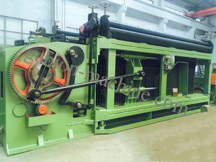 China  Spiral Coil Three Twist Gabion Wire Mesh Machine with Max Weaving Width 4300mm supplier