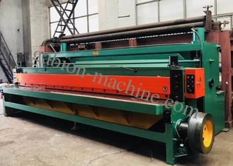 China 7.5kw Auto Netting Sheet Wire Mesh Cutting Machine Width 4300mm supplier