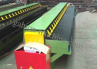 4m Hexagonal Wire Net Wrapped Edge Machine For Gabion Edge Winding 4.7kw