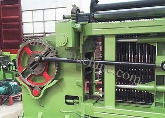 Industrial Automatic Hexagonal Wire Mesh Machine , 80mm ×100mm Gabion Mesh