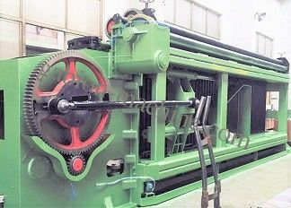 Heavy Duty Hexagonal Mesh Machine With Automatic Oil System , 3300mm Width