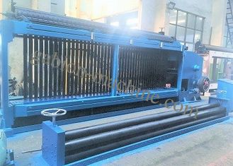 Hydraulic PVC Coated Wire Gabion Machine 120mm x 150mm Mesh Size