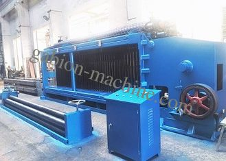 Customized High Speed Double Rack Drive Gabion Box Machine 22kw