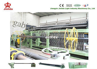 China 3.2mm Wire Gabion Mesh Machine 80x100mm Adjustable Double or Three Twist supplier