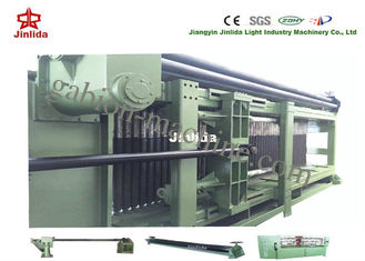 Adjustable 4300mm Gabion Machine 100x120mm Mesh Size with Automatic Oil System