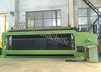 Double Rack Drive Gabion Machine , Hexagonal Mesh Machine 4300mm Width