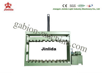 China High Speed Automatic Gabion Mesh Packing Machine for 3m x 1m x 1m Box Packing Press supplier