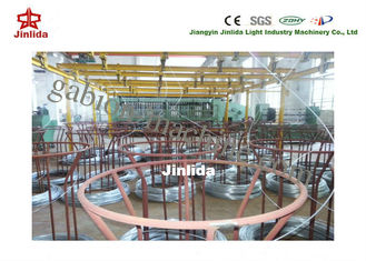 China Adjustable Automitic U-steel Wire Pay-off System for Gabion Production Line supplier