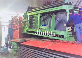 Galvanized Gabion Hexagonal Wire Netting Machine With Automatic Oil System