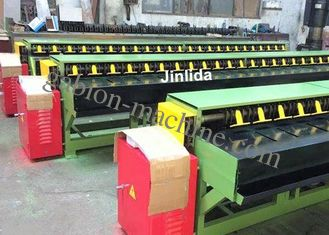 China High Efficient Auto Edge Banding Machine In Gabion Production Line supplier