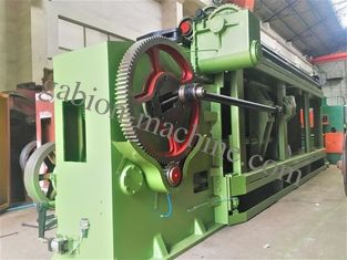 Galvanized Wire Mesh Gabion Machine 120X150mm With Automatic Oil System