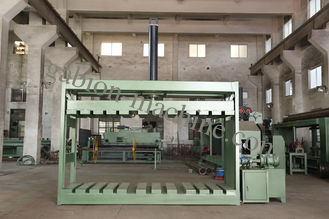 China Automatic Hexagonal Gabion Mesh Packing Machine With Hydraulic Oil 120kg supplier