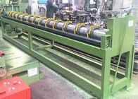 Cuatomized 4000mm Mesh Straightening Machine 2.3kw Gabion Production Line 6-25r/min