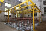 Kawat disesuaikan Gabion Gabion Mesh Line Produksi Mesin, Efisiensi Tinggi