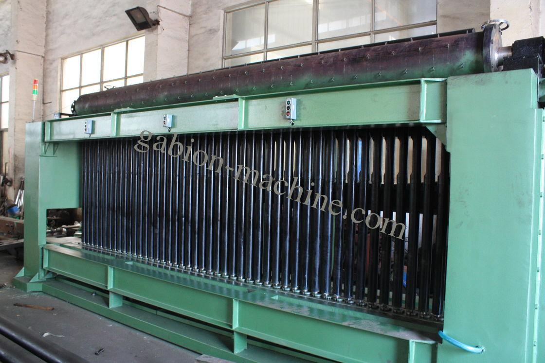 Un grillage galvanis par gabion plus lev de machine de - Machine de fabrication de treillis a souder ...
